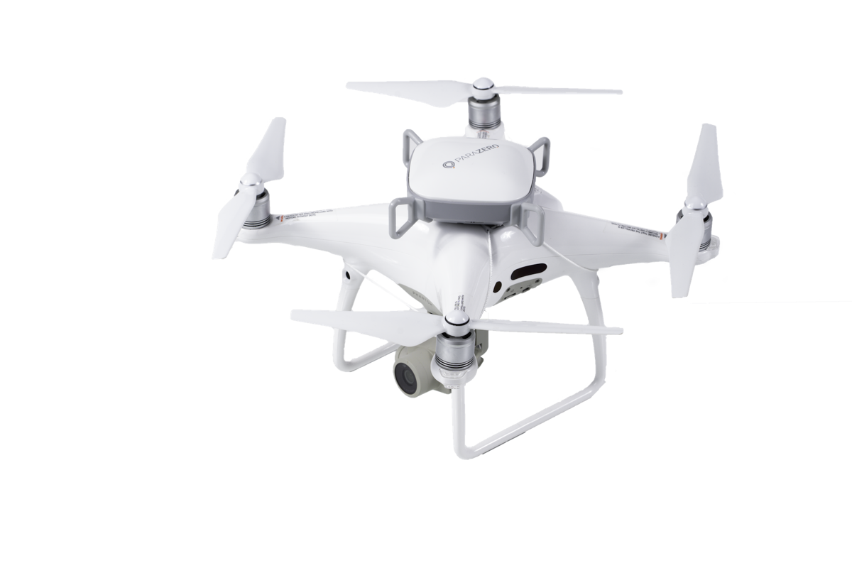 ParaZero izpletnis SafeAir Phantom 4